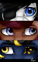 MLP eyes[Oc] by The---Sound