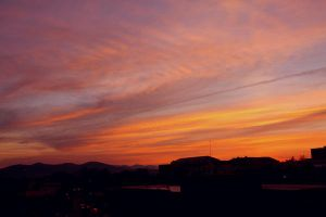 Asheville Sunset by ClaireErdal