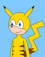Sonic Styled Pikachu by Masterge77