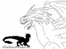 HTTYD-Angry Stormcutter sketch by BlackDragon-Studios