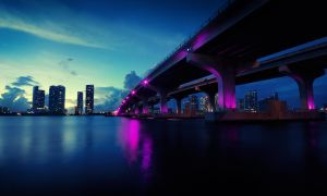Mcarthurs Bridge Miami by dejz0r