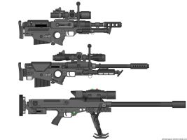 EDF AM Sniper Rifles by dronner66