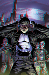 Nightwing Zero Year in 3D Anaglyph by xmancyclops