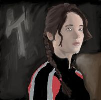 Katniss Finished by Jessi2012
