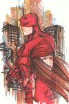 marker : Daredevil and Elektra by KidNotorious