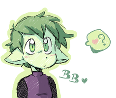 Iscribble doodle: BB by DiachanX