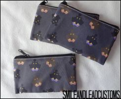 Pumpkaboo 3DS Pouches FOR SALE by SmileAndLead