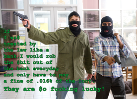 Bank Robbers by brainhiccup