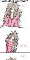 Aerith says Me by IllusionedTime