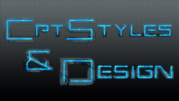 CptStyles AND design Typo by CptGolli