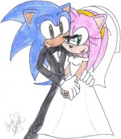 SonAmy Wedding by vasqueza93
