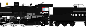 Southern Pacific 2472 Sprite by RailToonBronyfan3751