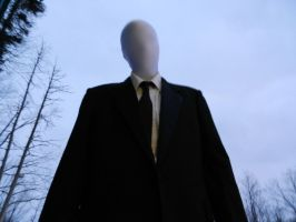 Winter Slenderman Cosplay by Wylrin