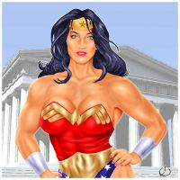 Wonder Woman - in your face by yatz