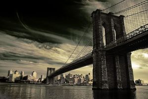 Brooklyn Bridge by treeleaf