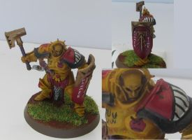 Angry Sigmarine by LordJubba