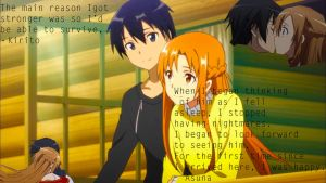 Kirito x Asuna [with text] by GrayxLucy1212