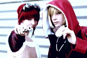 Foreground - Mello and Matt (Death Note) by EternityPB