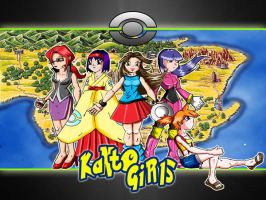 Coleccion Kanto girls completa by JG4