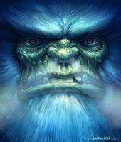 Abominable Snowman by joelhustak
