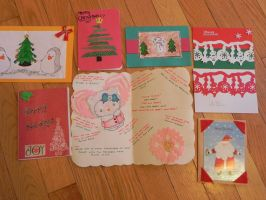 Your cards for the Holiday Card Project 2014-4 by Lou-in-Canada