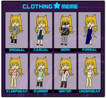 Pokespace: Clothing Meme by Jolteon-of-Doom