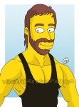 CHUCK Simpsons by kirschner