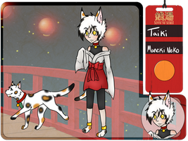 Taiki the Maneki Neko by Tess-Is-Epic