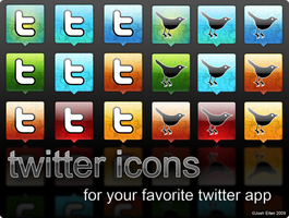 Twitter Boxes by jossotdesign