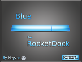 Blue for RocketDock by Heyvoz