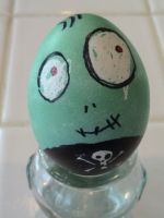 Roy the Toxic Boy Egg by MichellePrebich
