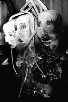 three heads by With0utH0pe