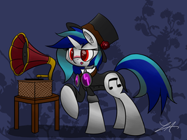 Steampunk Vinyl by Lux121