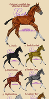 Spring Foals by letrainfalldown