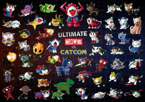 Ultimate Meowvel vs Catcom 3 by suzuran