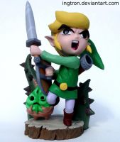 Link in the Forbidden Woods by Ingtron