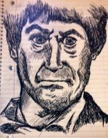 The Second Doctor (Patrick Troughton) by Lumos5000