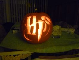 Harry Potter Jack-O-Lantern by quidditchchick004