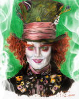 Mad Hatter by MelusineMcEwan