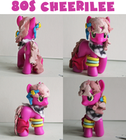 80's cheerilee MLP Custom figure by alltheApples
