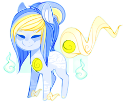 Cloudy Solutai Pony {DTA - Closed} by S-Adopts