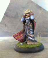 Warmachine Miniatures: Lady Aiyana by PrehistoricRobot