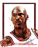 Happy birthday Michael Jordan by BonnyJohn