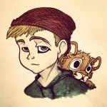 Boy And His Lion by BloodLust-Carman