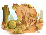Cacti by MapleSpyder