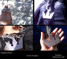 Crown Necklace from Kingdom Hearts by Minatek616