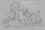 DBZ - AU Story: Downfall - New Concepts 2 by RedViolett