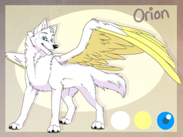Orion Refsheet, by Terryburr