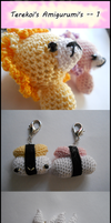 Terekoi's Amigurumis -- 1 by TheSmall-Stuff