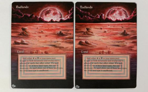 Badlands altered Art by Hasslord (Bloodmoon) by Hasslord